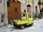 The Italian handyman's essential transportation
