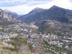 Briancon From A Distance