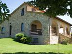 A particular of the villa.