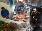 Friday fish stall