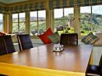 And the dining area has the views to savour!