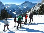 Classic family alpine skiing.  Cross country and Nordic also available.