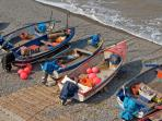 Fishing boats in Sheringham