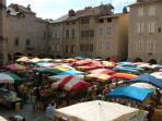 Villefrance market