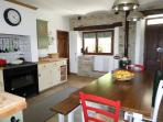 The main Kitchen to Villa bergolo