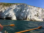 Rowing to the white cliffs (available Tuesdays and Saturdays for anyone)