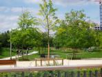 Adjacent Urban Eco-Friendly Park