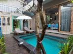 Kerobokan Apartment pool wf ac