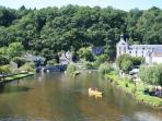 Fantastic swimming or canoeing in the Dronne river, right on your doorstep!
