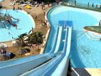 Aqua Park 7 minutes drive