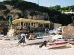 Senhora De Rocha beach cafe