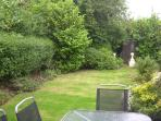 Rear Garden with 2 apple trees