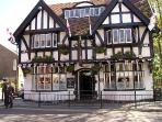 The Thatched House Pub Poulton centre renowned for their traditional Real Ales
