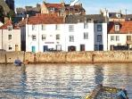 Location close to the harbour in St Monans