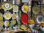 Artistiche ceramiche della tradizione stefanese.