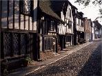Cobbled streets of Rye (3 Miles)