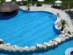 The Vineyards Resort Main Pool - Aerial View.