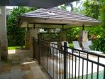 Covered outdoor dining & BBQ Pavilion