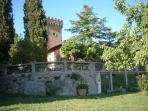 Villa and surrounding