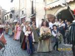 commemoration of 'Lepanto Battle' in Sermoneta in October