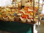 The spice stall in the Market