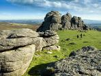 Dartmoor National Park Walking, hiking, adventure sports, pony trekking, ancient history