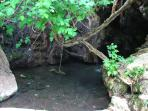 Baths of Afrodite (about 10km from the Villa)