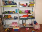 Plenty of chidlren's toys