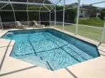 Beautiful oversized heated pool