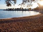 Pebble beach nearby