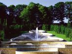 Alnwick Castle Gardens Water Cascade