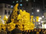 Samana Santa Easter week. Fantastic parades in the evenings in Malaga. Take the local train there.