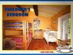 KIDS BEDROOM 1 BUNK BED AND A SINGLE