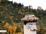 alrededores (el Generalife desde el Sacromonte)
