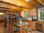 Large Kitchen, Breakfast bar!