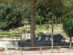 Pool terraces