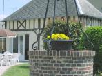 Traditional Normandy-style cottage in peaceful village setting  with a bakery just a 2-minute walk.