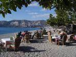 La Herradura beach - only minutes from the villa - with plenty of activities for all the family