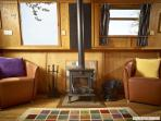 Multi-fuel stove to keep you cosy and warm
