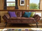 Good size comfy sofa bed