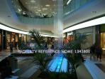 Location again, means you can walk to this big shopping Mall, with cinema & food quarters