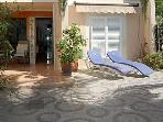 Nice big Apartment with garden completely equipped