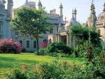 Royal Pavilion is 100 metres away!