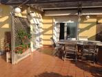 Dinning terrace area