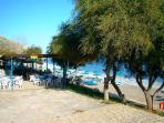 Pissouri beachside restaurant