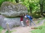 Le Rocher Branlant - the rocking rock.
