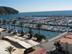 The marina moraira