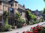 Picturesque village of Najac