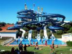 Big One Aqua park (20 min. Drive)