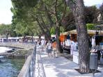 Market day in Lenno